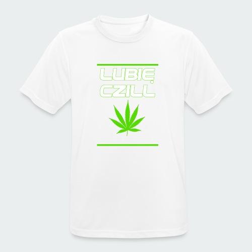 Męska Koszulka Premium Czill - Koszulka męska oddychająca