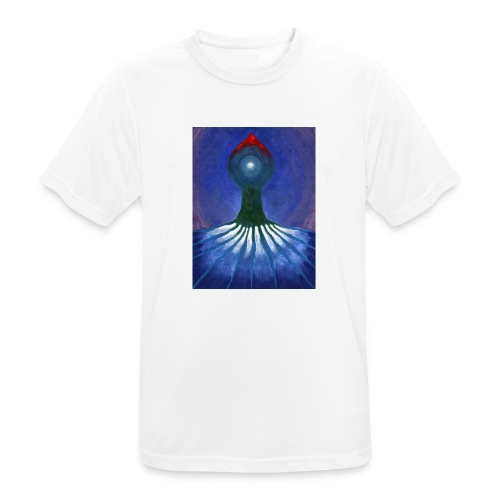 Drzewo Samotne - Koszulka męska oddychająca