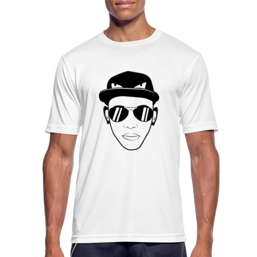 adhex cara - Camiseta hombre transpirable
