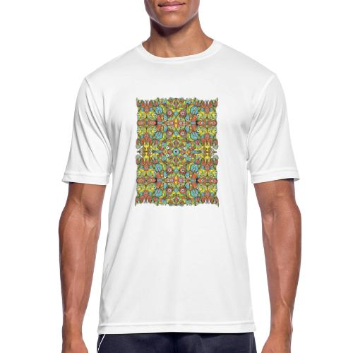 Weird creatures multiplying infinitely - Men's Breathable T-Shirt
