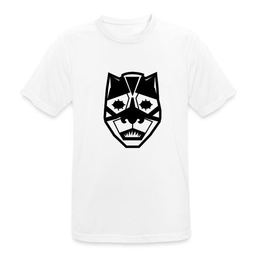 Mask Black - Maglietta da uomo traspirante