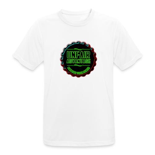UFAV Back and Green Logo - Men's Breathable T-Shirt