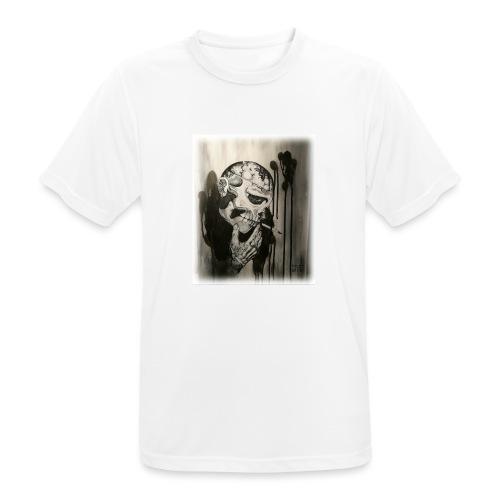 Skull illustration 1 - Andningsaktiv T-shirt herr