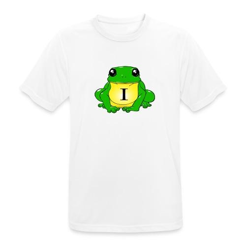 IndirectHat -LOGO- - Maglietta da uomo traspirante