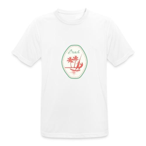Beach - Men's Breathable T-Shirt