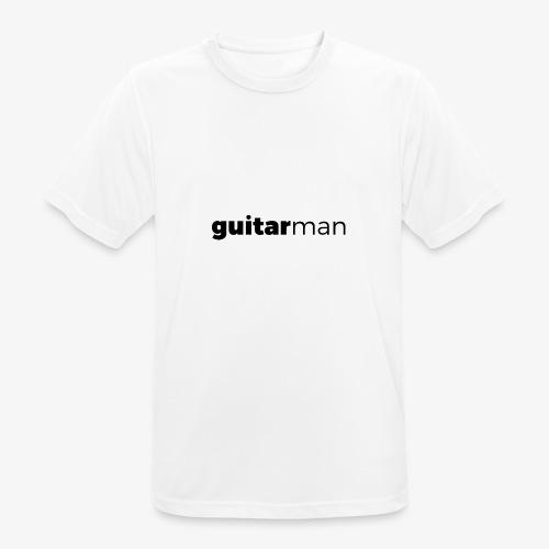 guitarman - Männer T-Shirt atmungsaktiv