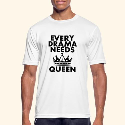 EVERY DRAMA black png - Men's Breathable T-Shirt