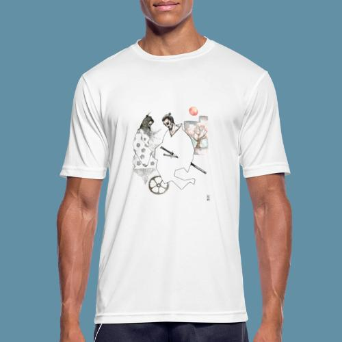 Samurai copia jpg - Maglietta da uomo traspirante
