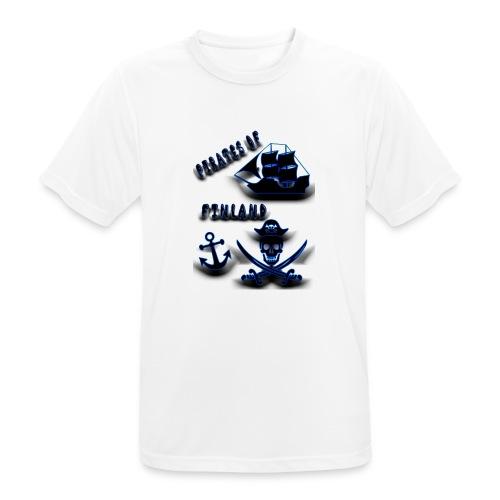 Pirates - miesten tekninen t-paita