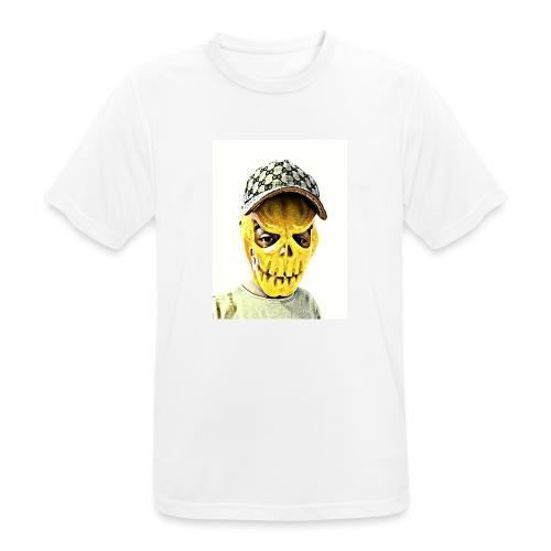 Gelber PMKM - Männer T-Shirt atmungsaktiv