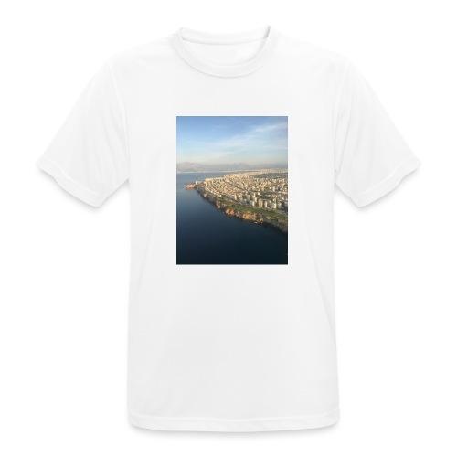 Türkei von oben - Männer T-Shirt atmungsaktiv