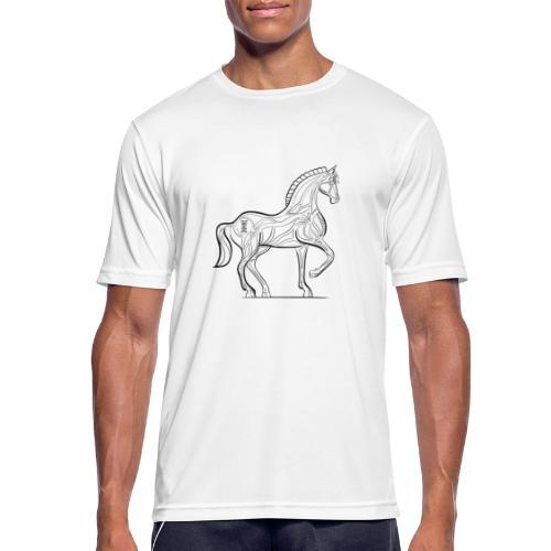 Equus Pferd - Männer T-Shirt atmungsaktiv