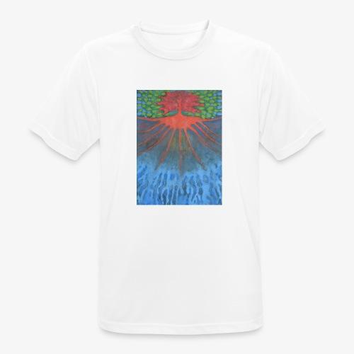 Drzewo Źycia - Koszulka męska oddychająca
