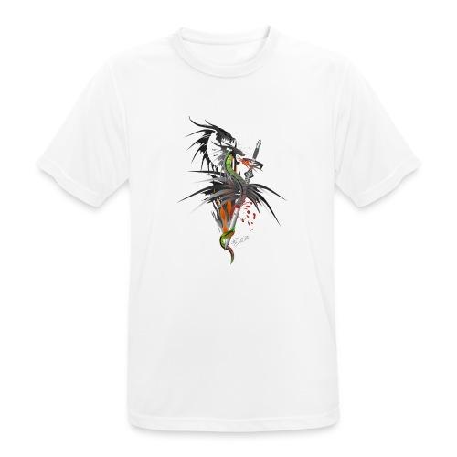 Dragon Sword - Drachenkampf - Männer T-Shirt atmungsaktiv
