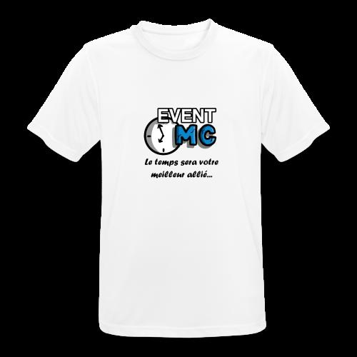 EventMCboutique - T-shirt respirant Homme