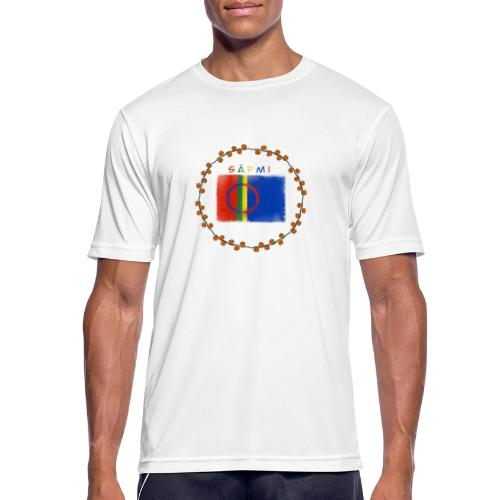 Sapmi - Pustende T-skjorte for menn