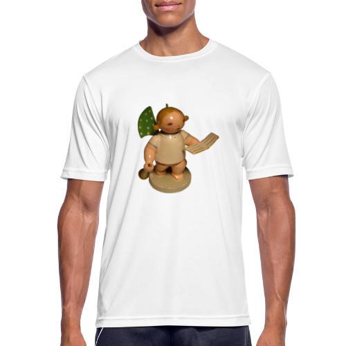 Engel mit Notenblatt + Trompete Retro Vintage Alt - Männer T-Shirt atmungsaktiv