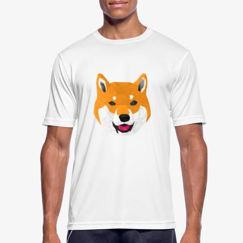 Shiba Dog - T-shirt respirant Homme