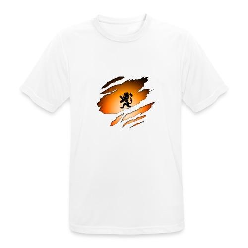Dutch Inside: Leeuw - Mannen T-shirt ademend actief