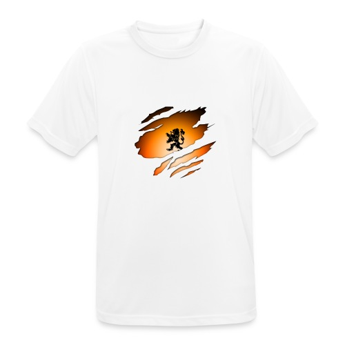 Dutch Inside: Leeuw - Mannen T-shirt ademend