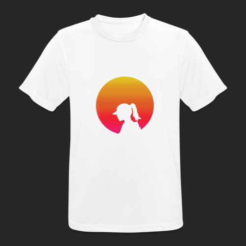 Gradient Girl - Men's Breathable T-Shirt