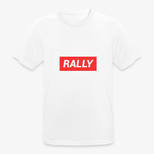 Rally classic red - Andningsaktiv T-shirt herr