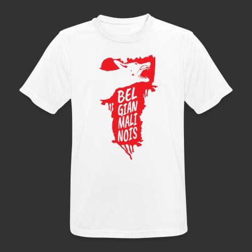 Belgian Malinois HEAD - miesten tekninen t-paita