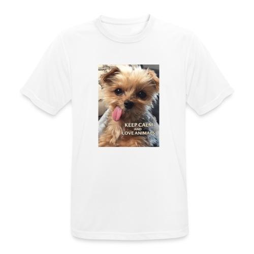 Dog - Männer T-Shirt atmungsaktiv