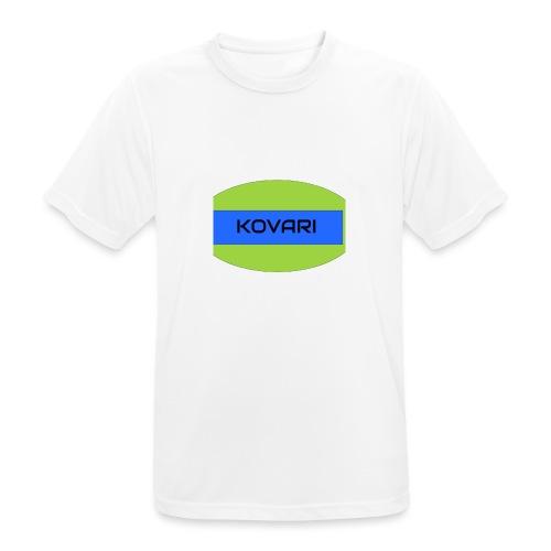 Kovari Logo - miesten tekninen t-paita