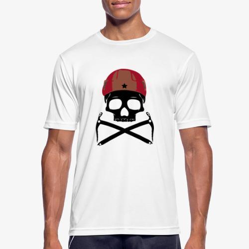 Climber Pirats skull black - Climbing Pirates - Men's Breathable T-Shirt