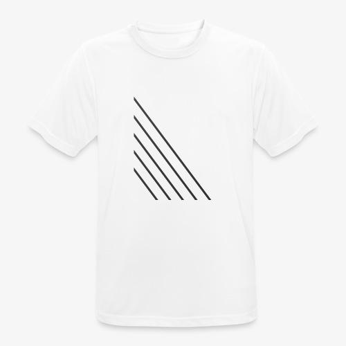 STRIPED - Herre T-shirt svedtransporterende