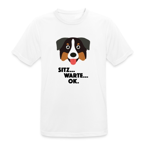 Hund - Männer T-Shirt atmungsaktiv