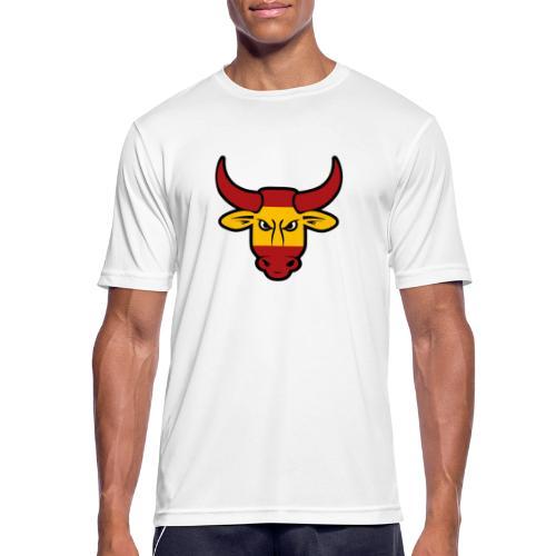 Toro Face - Camiseta hombre transpirable
