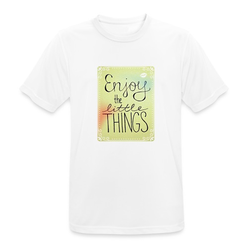 LITTLE_THINGS - Mannen T-shirt ademend actief