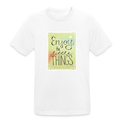 LITTLE_THINGS - Mannen T-shirt ademend