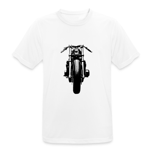 Motorcycle Front - Men's Breathable T-Shirt