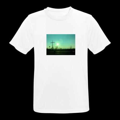 pollution - Mannen T-shirt ademend actief