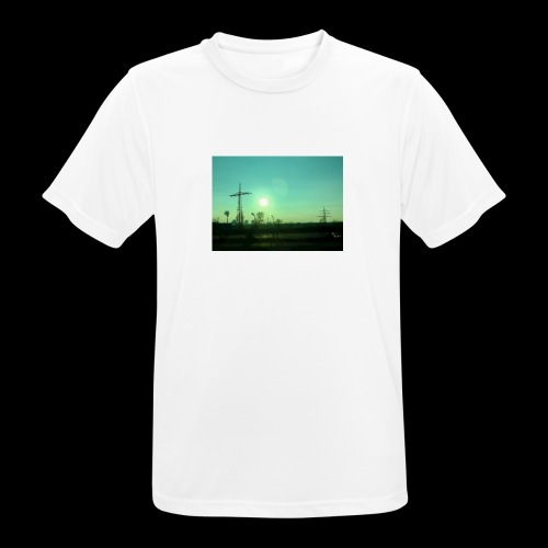 pollution - mannen T-shirt ademend
