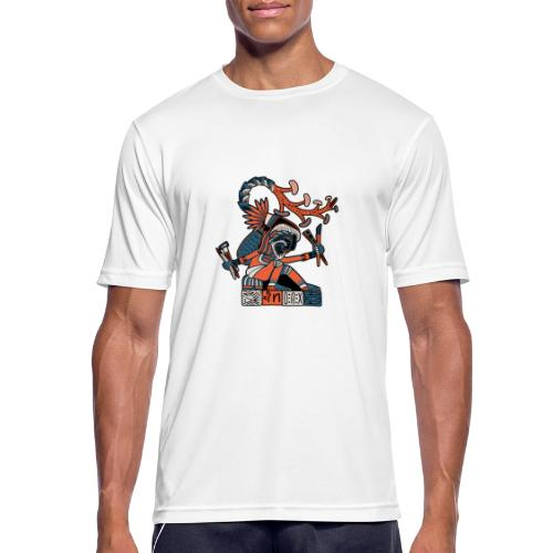MAESTRO MEZCALERO PREHISPÁNICO - Camiseta hombre transpirable