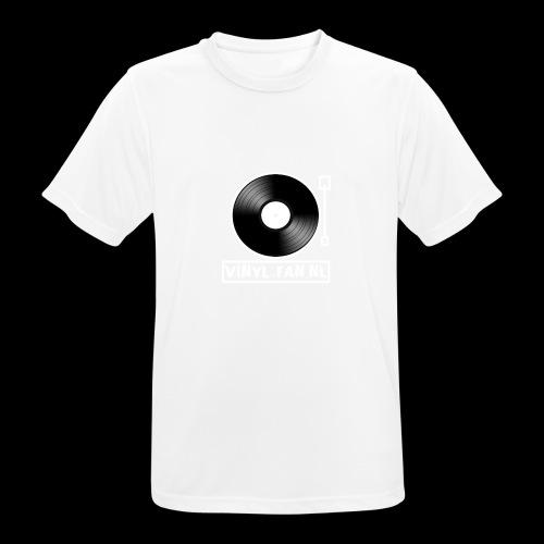 Vinyl-fan.nl - Mannen T-shirt ademend actief