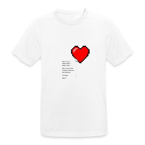 Options of the heart - Herre T-shirt svedtransporterende