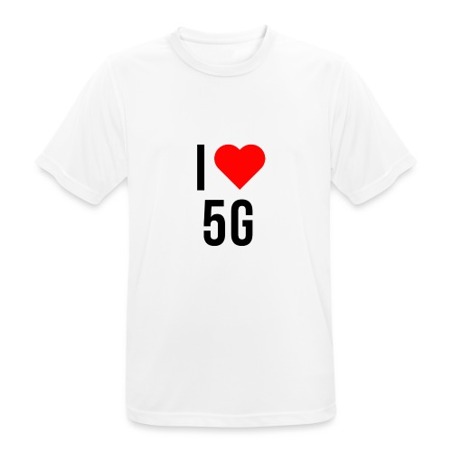 ilove5g - Männer T-Shirt atmungsaktiv