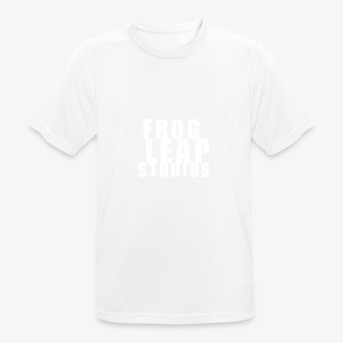FLS Logo - Pustende T-skjorte for menn