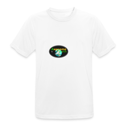 awesome earth - Men's Breathable T-Shirt