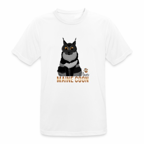 Maine Coon lover - T-shirt respirant Homme