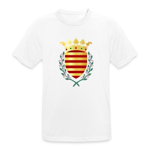 Wapenschild Borgloon - mannen T-shirt ademend