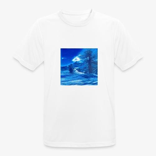 Magia dei Monti della Luna - Maglietta da uomo traspirante