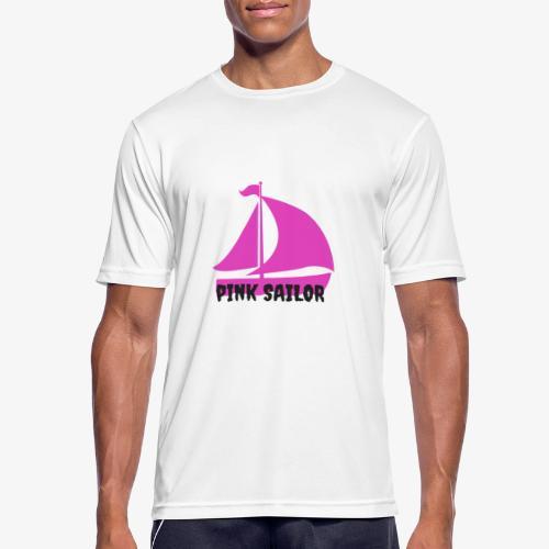 PINK SAILOR - Andningsaktiv T-shirt herr