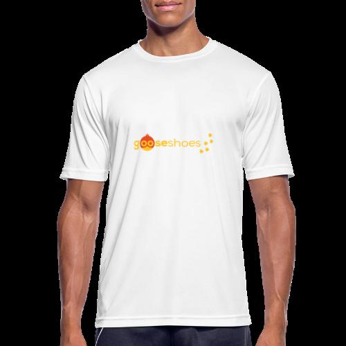 gooseshoes 01 - Männer T-Shirt atmungsaktiv