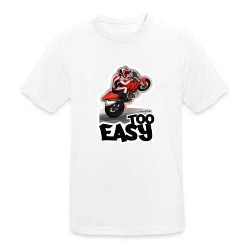 Ducati Monster Wheelie A - Camiseta hombre transpirable